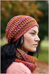 Čiapky - farebná jeseň - 4519488_