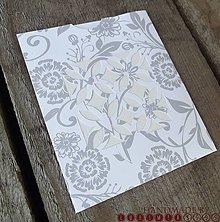 Papiernictvo - Schovaj si elegantne / Kapsička 02 - 4524223_