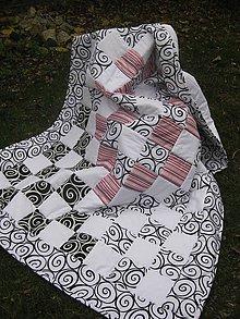Úžitkový textil - čierno-biely svet - 4521527_