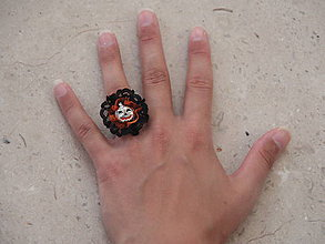 Prstene - Halloweenska kolekcia - prsteň - 4524358_