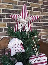 - Vianočná hviezda na stromček - 4525543_