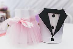 Svadba - návleky na poháre  - 4530797_
