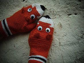 Rukavice - Líščie rukavičky - 4530761_
