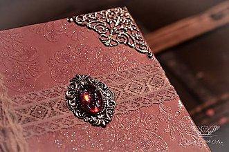 Papiernictvo - Exclusive Lady Diary / na zákazku :) - 4532146_