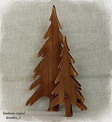 Dekorácie - stromček rustikálny malý - 4530214_