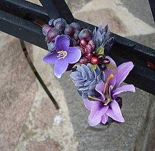 Ozdoby do vlasov - Violet - 4532052_