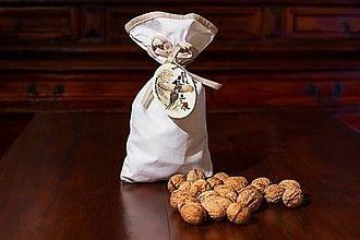 Potraviny - Bio Vlašské orechy lúpané v bavlnenom vrecku - 4536900_