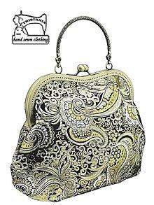 Kabelky - zľava Spoločenská brokátová kabelka, kabelka dámská  0817 - 4536169_