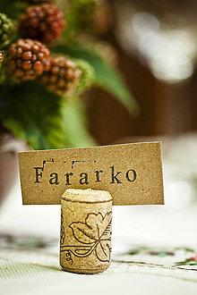 Papiernictvo - Svadobné menovky - vinárske - 4533473_