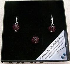 Sady šperkov - Fialová sada - 4535645_