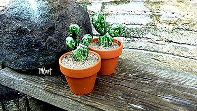 Dekorácie - Kaktusík - 4535889_