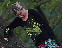 Topy, tričká, tielka - Jesenná impresia - 4534271_