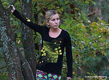 Topy, tričká, tielka - Jesenná impresia - 4534302_