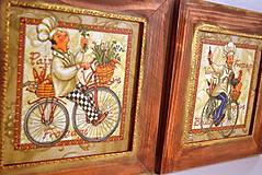Obrázky - Kuchárici na bicykli - 4537246_