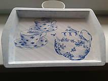 Nádoby - modrý čajník - 4533184_
