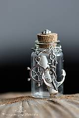 Náhrdelníky - lahvička na drobnosti či mléčné zoubky - 4533729_