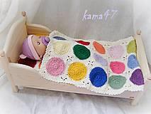 Deka či prikrývka pre bábiky