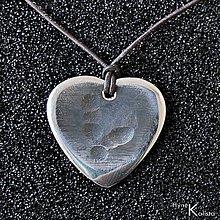 Drobnosti - Trsátko ocel nerez kov - Heart - 4540358_
