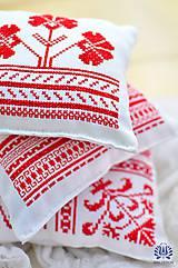 Úžitkový textil - Folk vankúšiky - 4539549_