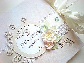 Papiernictvo - Romantická kniha hostí - 4545050_