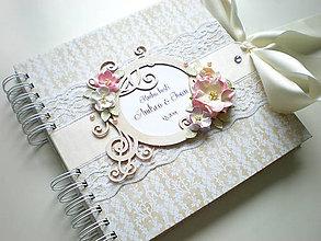 Papiernictvo - Svadobná kniha hostí - 4545096_