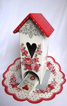 Krabičky - Domček na čaj-Coco White - 4544591_