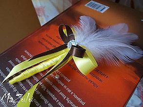 Pierka - svadobné pierko pre ocinov - 4543936_