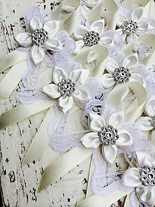 Pierka - Svadobné pierko {Ivory-White} - 4544464_