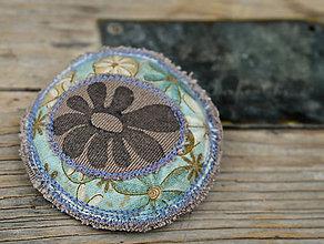 Odznaky/Brošne - Brož kytka - 4545112_