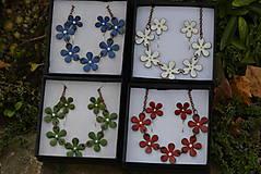 Sady šperkov - kytičky..souprava - 4542433_