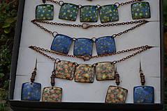 Sady šperkov - kostky ..souprava - 4542441_