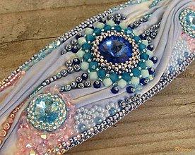 Náramky - Náramok Cape Cod Blue...Shibori - 4546185_