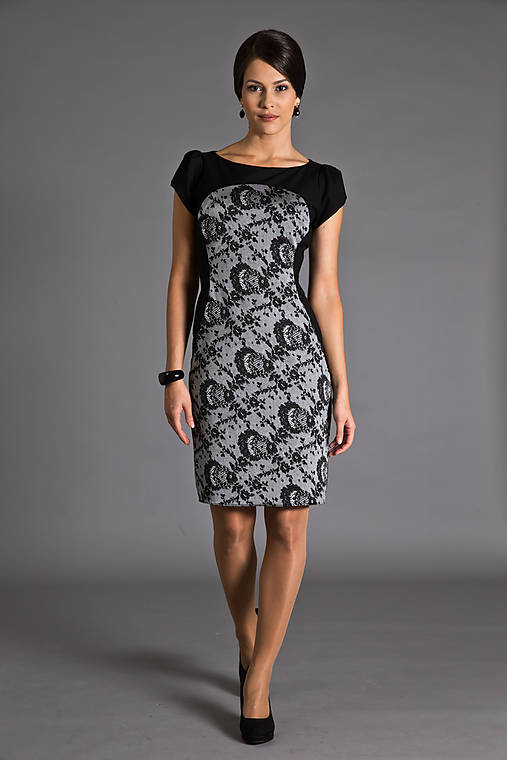 Krásne šaty s čipkou   MiraMarce - SAShE.sk - Handmade Šaty fd13d2ad32f