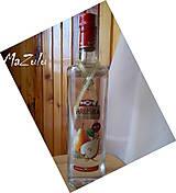 lurexová stužka na ozdobu fľaše