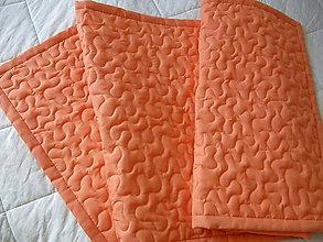 Úžitkový textil - Marhuľková zástenka 160 x 60 cm - 4546510_
