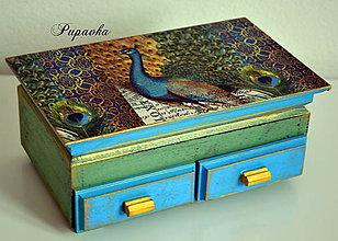 Krabičky - Pávia pýcha - 4549373_