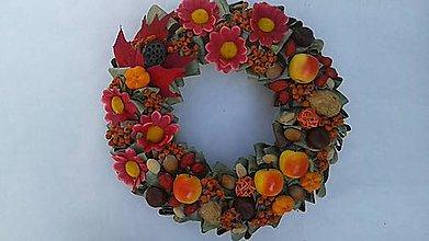 Dekorácie - Jesenný veniec 5 - 4552886  477fa05d3f5