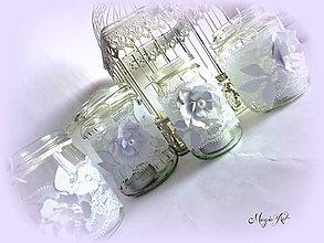 Svietidlá a sviečky - Shabby chic rodinka - 4552103_