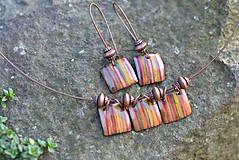 Sady šperkov - souprava kostky..béžová - 4553299_
