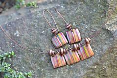 Sady šperkov - souprava kostky..béžová - 4553300_