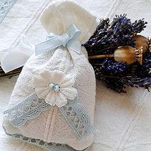 Úžitkový textil - Levanduľové vrecúška - 4550806_
