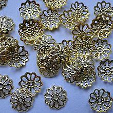 Komponenty - Kaplík 9x1,5mm-zlatý-20ks - 4557874_