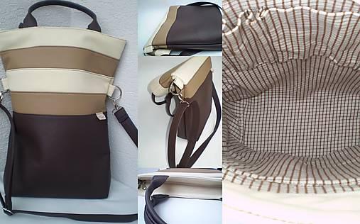 afc62ff0eb čokoláda či vanilka    eni.ka - SAShE.sk - Handmade Veľké tašky