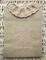 Detské oblečenie - Košieľka na krst K21 ružová pre dievčatko - 4555133_