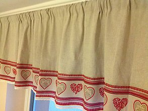 Úžitkový textil - Záves-záclonka - Linen - - 4560856_