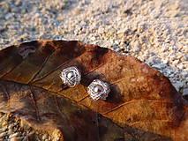 Náušnice - ...schúlené drobučké riečne perly  - 4562473_