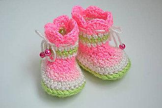 Topánočky - čižmičky Color - 4559769_