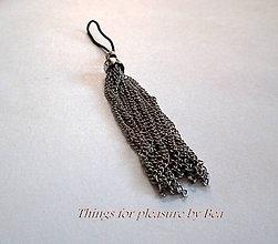 Na mobil - Prívesok na mobil Silver elegant - 4559233_