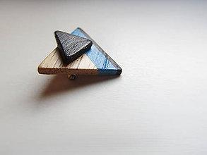 Odznaky/Brošne - Dřevěná brož - 4558722_