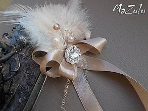 Pierka - elegantné svadobné pierko - 4560325_